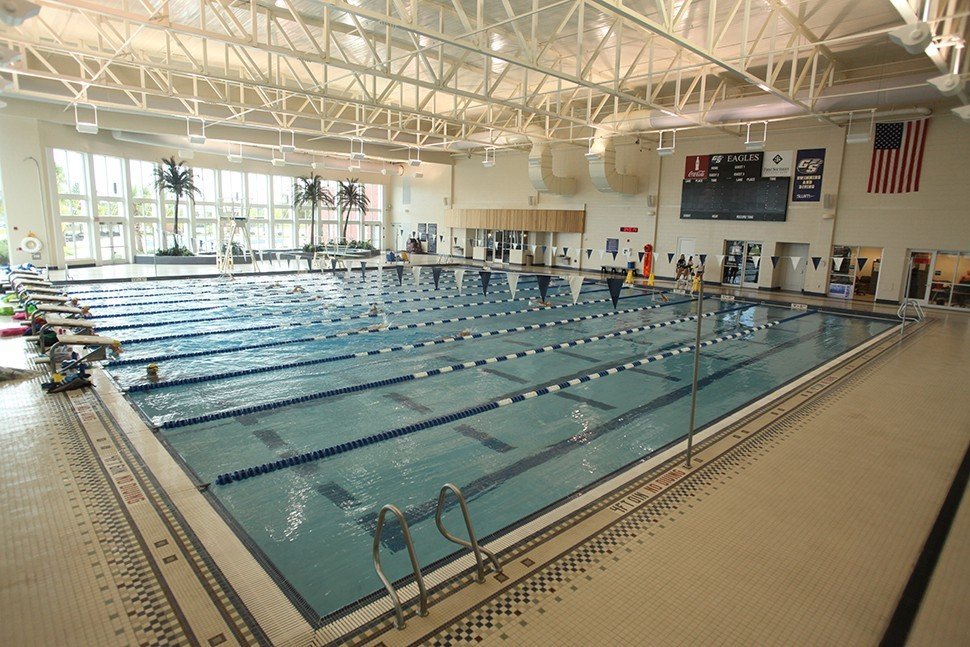 Aquatics Center At The Rac