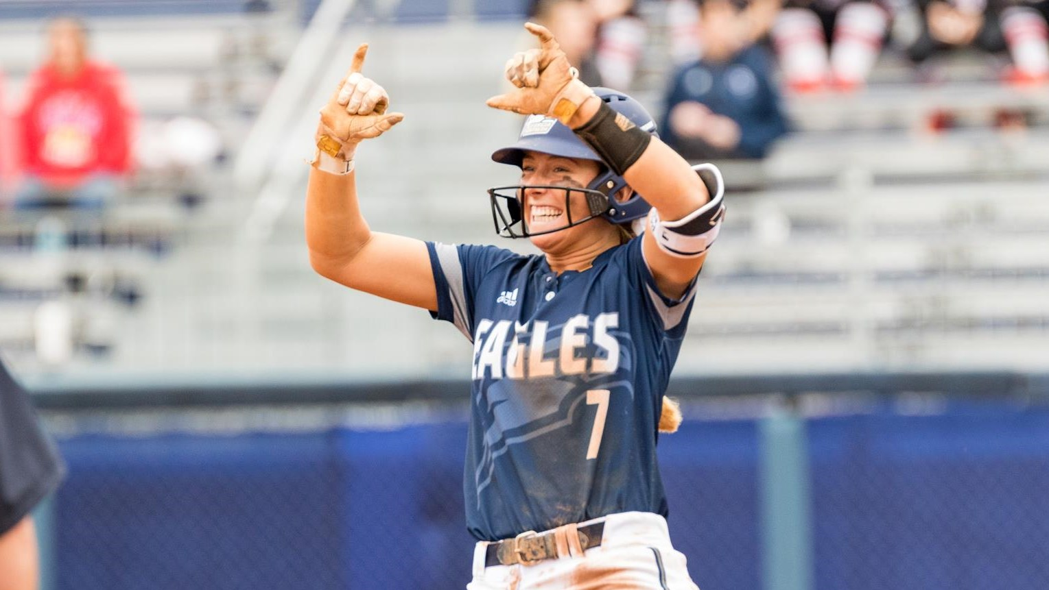 GS Softball Takes Sun Belt Series At Troy With 3-2 Win On