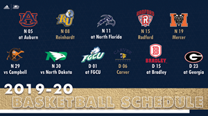 WSAV to Televise Three Men's Basketball Games as part of